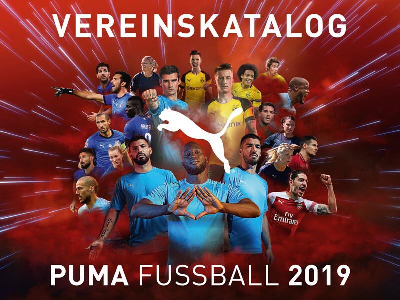 puma Vereinskatalog Fußball 2019