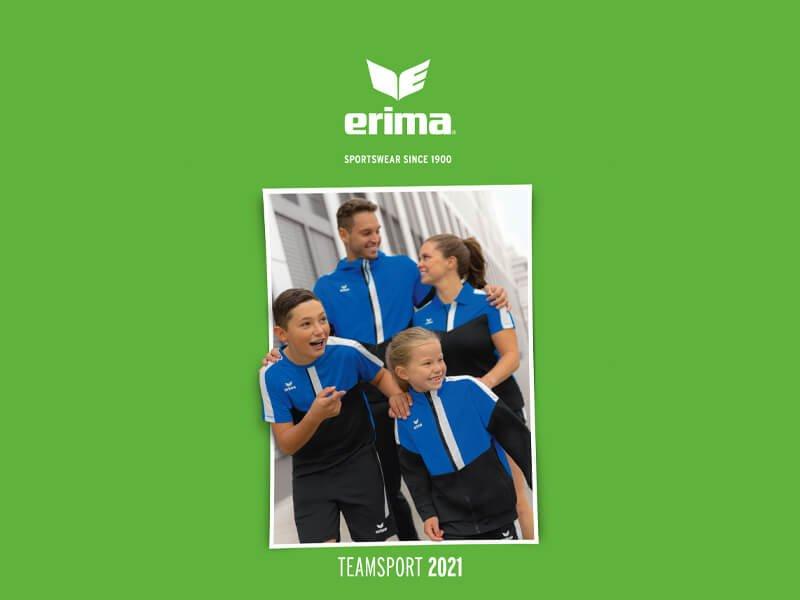 erima Teamsport Katalog 2021