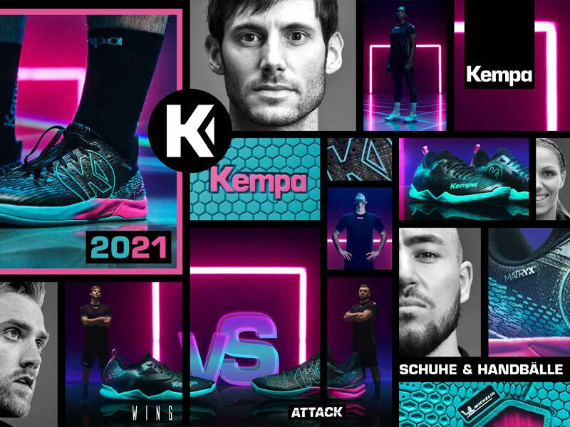kempa Katalog Schuhe & Handbälle 2021