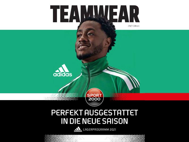 Adidas Teamwear 2021 deutsch Sport 2000