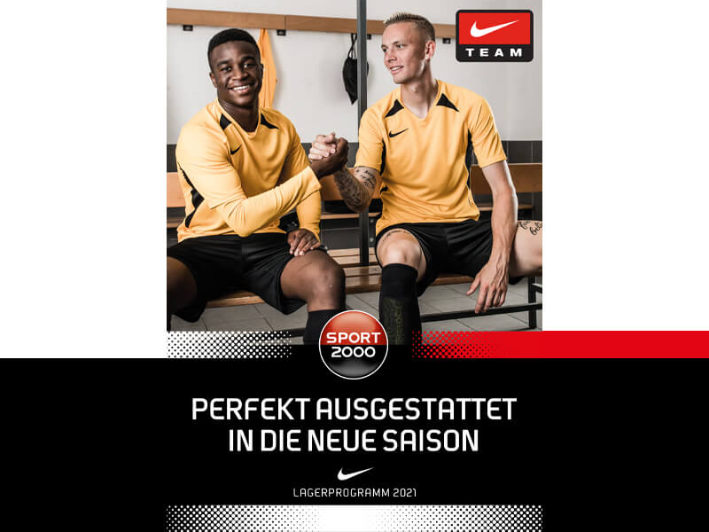 Nike Teamwear 2021 deutsch Sport 2000